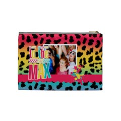 Neon Cosmetic Case By Lmrt   Cosmetic Bag (medium)   Q1zr0jvnx1es   Www Artscow Com Back