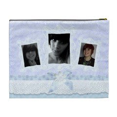 Triple Frame Family Cosmetic Bag By Claire Mcallen   Cosmetic Bag (xl)   6gvesaometwo   Www Artscow Com Back