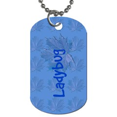Guiding Dog Tag   Guides Ladybug By Patricia W   Dog Tag (two Sides)   Jqzdzy0vd8sw   Www Artscow Com Front
