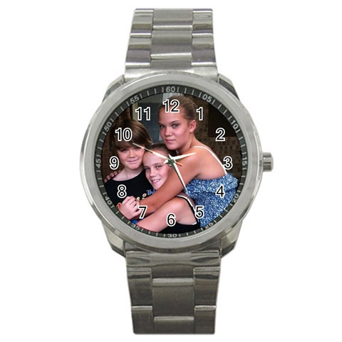 Stainless Watch By Kerrie Stanford   Sport Metal Watch   Sk69s6n41oe0   Www Artscow Com Front