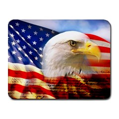 American Flag Small Mousepad by IMNEETO