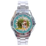 beautiful girl - Stainless Steel Analogue Watch