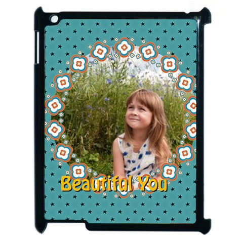 Beautiful Girl By May   Apple Ipad 2 Case (black)   Eks2a9hpc39e   Www Artscow Com Front