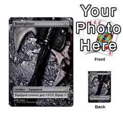 Artifacts To Disfigure By Ben Hout   Multi Purpose Cards (rectangle)   1sfkqdh7xw7a   Www Artscow Com Front 7