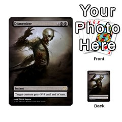 Dismember To Counterspell By Ben Hout   Multi Purpose Cards (rectangle)   U5o33adf70ab   Www Artscow Com Front 1