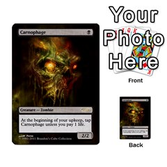 Dismember To Counterspell By Ben Hout   Multi Purpose Cards (rectangle)   U5o33adf70ab   Www Artscow Com Front 9