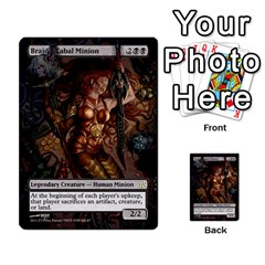 Dismember To Counterspell By Ben Hout   Multi Purpose Cards (rectangle)   U5o33adf70ab   Www Artscow Com Front 10