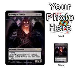 Dismember To Counterspell By Ben Hout   Multi Purpose Cards (rectangle)   U5o33adf70ab   Www Artscow Com Front 11
