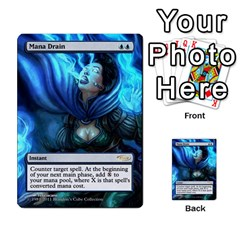 Dismember To Counterspell By Ben Hout   Multi Purpose Cards (rectangle)   U5o33adf70ab   Www Artscow Com Front 38