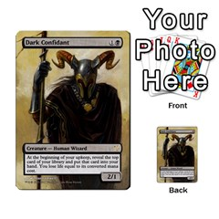 Dismember To Counterspell By Ben Hout   Multi Purpose Cards (rectangle)   U5o33adf70ab   Www Artscow Com Front 5