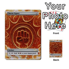 Coralhelm Commander To River Boa By Ben Hout   Multi Purpose Cards (rectangle)   8x5qgq682957   Www Artscow Com Front 13