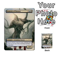 Coralhelm Commander To River Boa By Ben Hout   Multi Purpose Cards (rectangle)   8x5qgq682957   Www Artscow Com Front 20