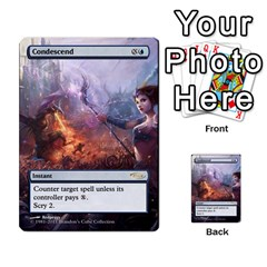 Coralhelm Commander To River Boa By Ben Hout   Multi Purpose Cards (rectangle)   8x5qgq682957   Www Artscow Com Front 3