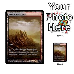 Regrowth To Blightning By Ben Hout   Multi Purpose Cards (rectangle)   B0jip24emsnd   Www Artscow Com Front 53