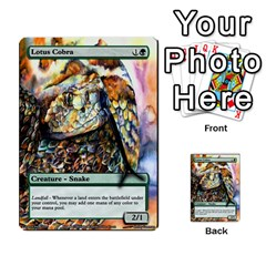 Regrowth To Blightning By Ben Hout   Multi Purpose Cards (rectangle)   B0jip24emsnd   Www Artscow Com Front 8