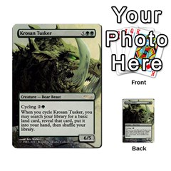 Regrowth To Blightning By Ben Hout   Multi Purpose Cards (rectangle)   B0jip24emsnd   Www Artscow Com Front 11