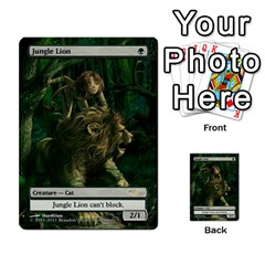 Regrowth To Blightning By Ben Hout   Multi Purpose Cards (rectangle)   B0jip24emsnd   Www Artscow Com Front 12