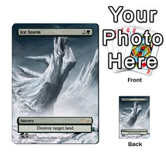 Regrowth To Blightning By Ben Hout   Multi Purpose Cards (rectangle)   B0jip24emsnd   Www Artscow Com Front 15