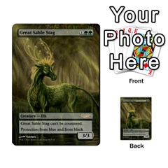 Regrowth To Blightning By Ben Hout   Multi Purpose Cards (rectangle)   B0jip24emsnd   Www Artscow Com Front 18