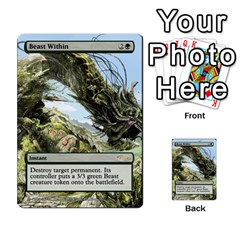Regrowth To Blightning By Ben Hout   Multi Purpose Cards (rectangle)   B0jip24emsnd   Www Artscow Com Front 31