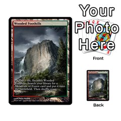 Regrowth To Blightning By Ben Hout   Multi Purpose Cards (rectangle)   B0jip24emsnd   Www Artscow Com Front 34