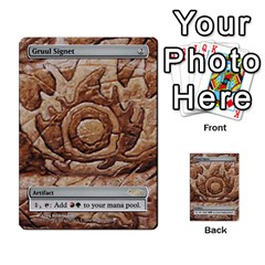 Regrowth To Blightning By Ben Hout   Multi Purpose Cards (rectangle)   B0jip24emsnd   Www Artscow Com Front 36