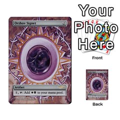 Regrowth To Blightning By Ben Hout   Multi Purpose Cards (rectangle)   B0jip24emsnd   Www Artscow Com Front 47