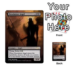 Regrowth To Blightning By Ben Hout   Multi Purpose Cards (rectangle)   B0jip24emsnd   Www Artscow Com Front 49