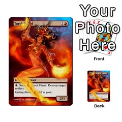 Torch Fiend To Savannah By Ben Hout   Multi Purpose Cards (rectangle)   6j1vq2pg8sd5   Www Artscow Com Front 2