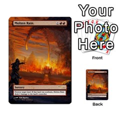 Torch Fiend To Savannah By Ben Hout   Multi Purpose Cards (rectangle)   6j1vq2pg8sd5   Www Artscow Com Front 14