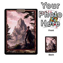 Swamp To Mountain By Ben Hout   Multi Purpose Cards (rectangle)   Otnnlco0jp5t   Www Artscow Com Front 48