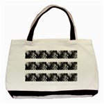waves (hearts) - Basic Tote Bag