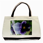 blue flower - Basic Tote Bag