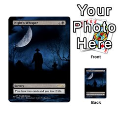 Extras By Ben Hout   Multi Purpose Cards (rectangle)   N7v6zb3lq5u1   Www Artscow Com Front 29