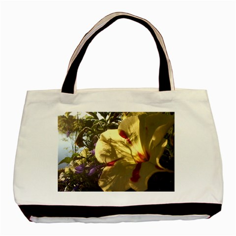 Yellow Flower By Riksu   Basic Tote Bag   2ozfphftu9kx   Www Artscow Com Front