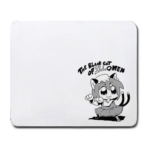 Chen: The Black Cat Of Ill Omen By Uhuh   Large Mousepad   Ia5rti4g53d9   Www Artscow Com Front