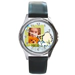 nice day - Round Metal Watch