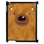 bear - Apple iPad 2 Case (Black)