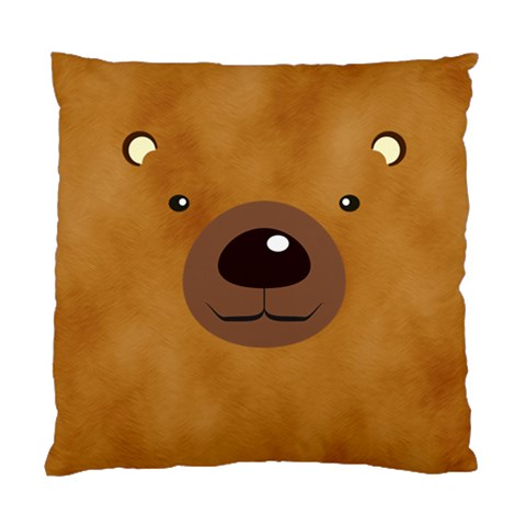 Bear By Divad Brown   Standard Cushion Case (one Side)   H9vtixfxlis9   Www Artscow Com Front