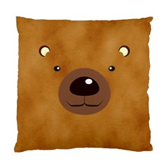 Bear By Divad Brown   Standard Cushion Case (two Sides)   5hykmwui9cqv   Www Artscow Com Front