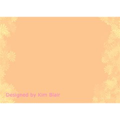 Heart Card By Kim Blair   Heart Bottom 3d Greeting Card (7x5)   Z1n14bzk1v44   Www Artscow Com Back