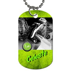 Lesty s D2 Dog Tag 2012 By Shelley Hoover   Dog Tag (two Sides)   4mkuf6jk0kra   Www Artscow Com Front