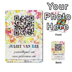 Business Cards By Juliet Van Ree   Multi Purpose Cards (rectangle)   Gjstag5hlz72   Www Artscow Com Back 9