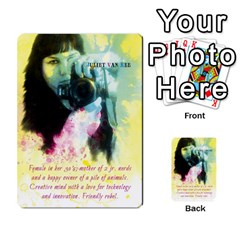 Business Cards By Juliet Van Ree   Multi Purpose Cards (rectangle)   Gjstag5hlz72   Www Artscow Com Front 4