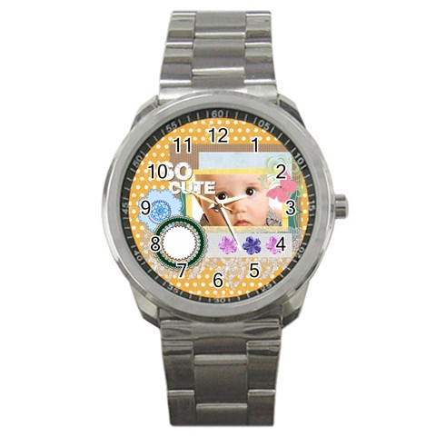 So Cute By Joely   Sport Metal Watch   Wq9xtlo9aetj   Www Artscow Com Front