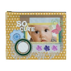 So Cute By Joely   Cosmetic Bag (xl)   D5fgc39pyiys   Www Artscow Com Front