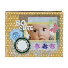 So Cute By Joely   Cosmetic Bag (xl)   D5fgc39pyiys   Www Artscow Com Back
