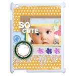 so cute - Apple iPad 2 Case (White)