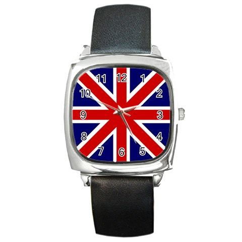 Gb By Divad Brown   Square Metal Watch   Sjzw5rlc61o2   Www Artscow Com Front