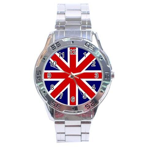 Gb By Divad Brown   Stainless Steel Analogue Watch   Llu8uzyi3ovj   Www Artscow Com Front